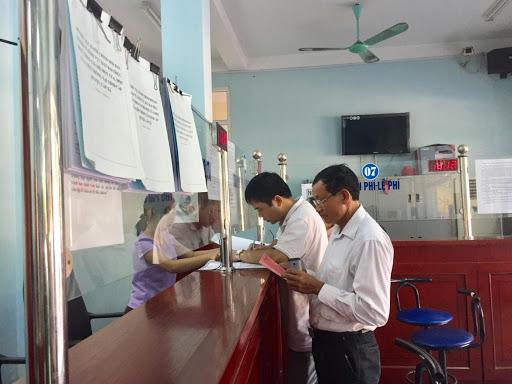 Văn phòng đăng ký đất đai là nơi tiếp nhận hồ sơ giải chấp sổ đỏ